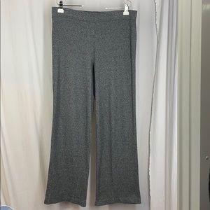 J.Jill PURE LT L T Marled Gray Wide Leg Pants